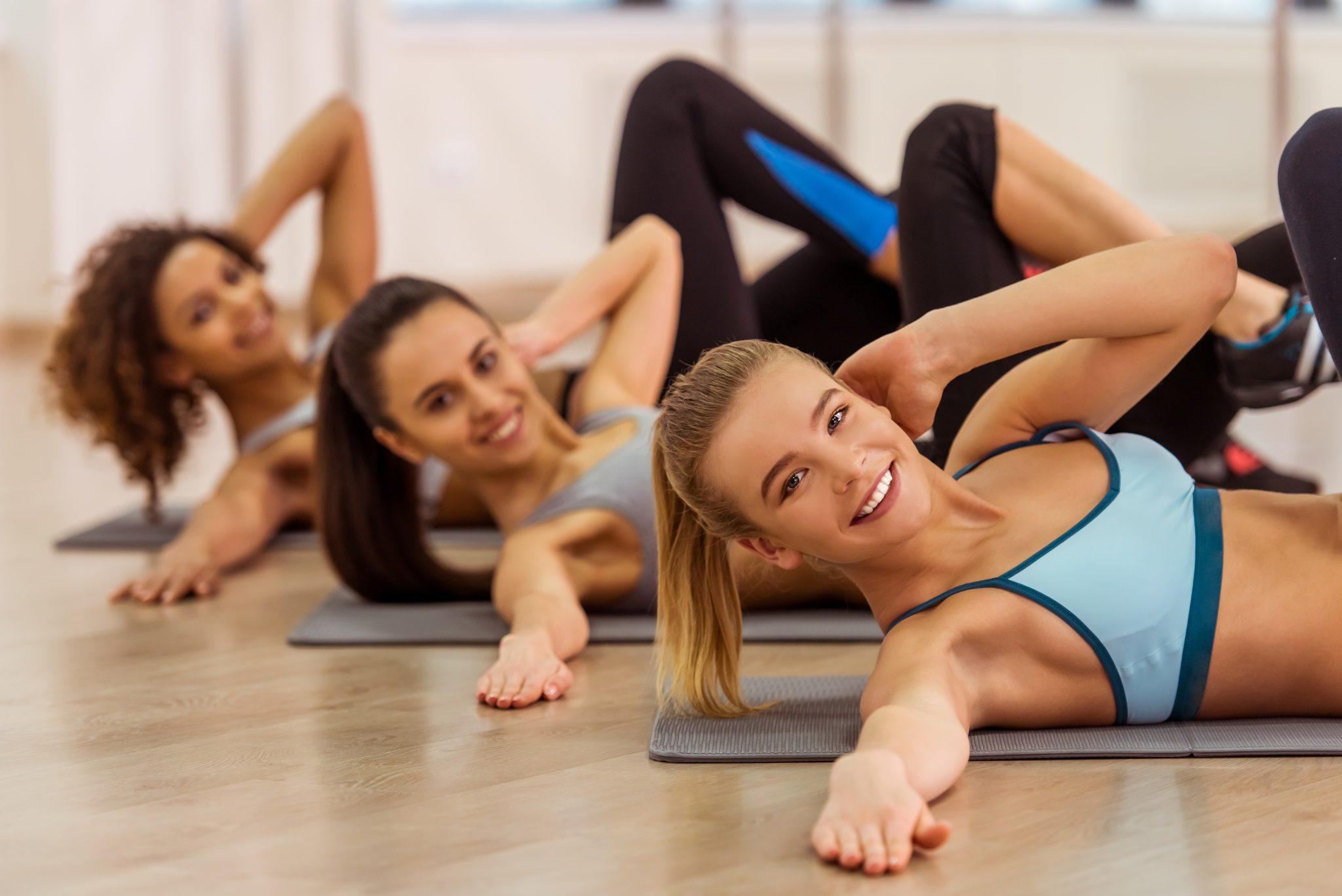 clases en grupo divertidas pilates