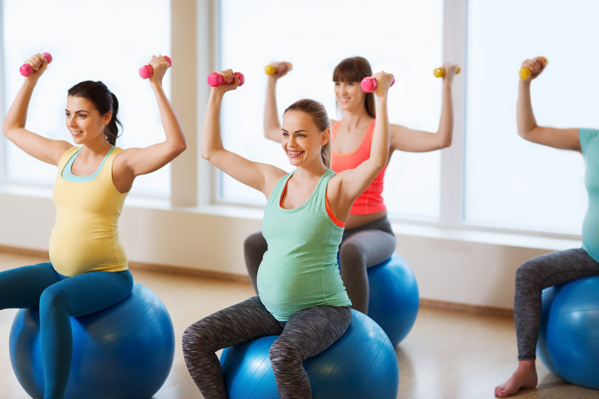 pilates prenatal y postnatal