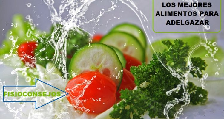 los mejores alimentos para adelgazar