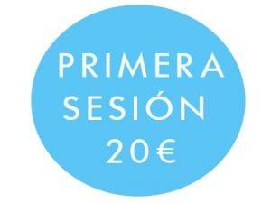 Primera sesion 20 €