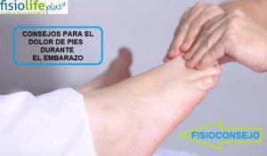 consejos para el dolor de pies durante el embarazo