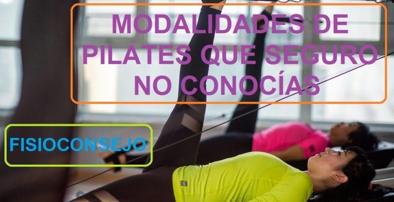 MODALIDADES DE PILATES QUE SEGURO NO CONOCÍAS
