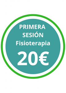 OFERTA PRIMERA SESION FISIOTERAPIA